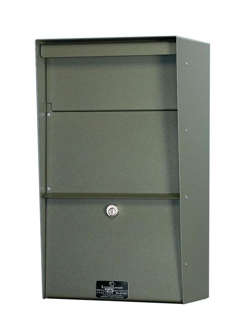 Large Locking Wall Mounted Mailbox - Best Selling Security Mailboxes