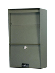 Large Locking Wall Mounted Mailbox