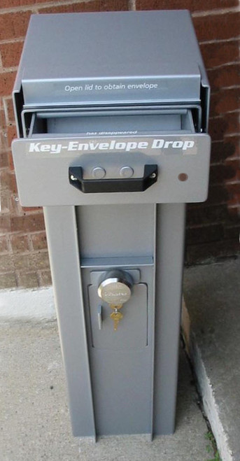 Free Standing High Security Key or Payment Drop Box