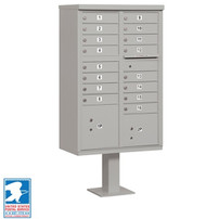 16 Unit Cluster CBU Locking Mailboxes