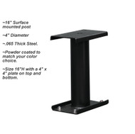 16 Inch Surface mounted post for Supreme Locking Mailbox