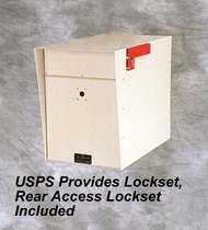 Arrow Lockable Mailbox For USPS lockset