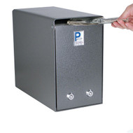 Locking Cash Box with Two Locks
