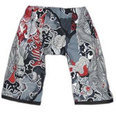 Punk Rock Asian Inspired Baby Pants: Dragon Black