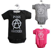 Punk Rock Onesie: Anarchy Punk Rocker