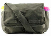 Punk Rock Diaper Bag: Olive