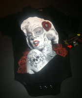 Baby Cool Onesie or Toddler T-Shirt: Marilyn Day of the Dead