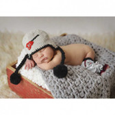 Cool Knit Rockstar Guitar Baby Beanie Hat