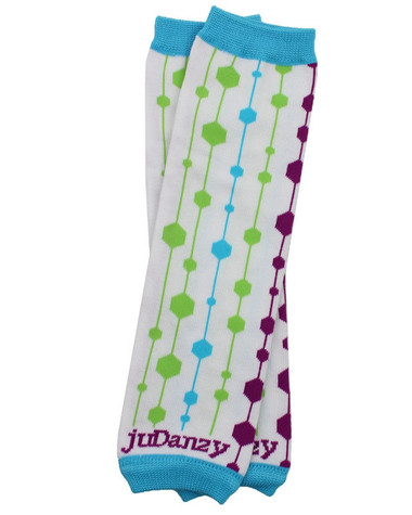 Retro Organic Cotton Baby & Toddler Leg Warmers.