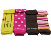 Baby Leg Warmers Gift Set: Bamboo Girl Style - Newborn - CLOSEOUT