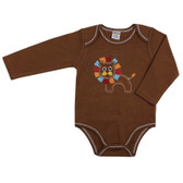 Baby Long Sleeve Onesie: Lion