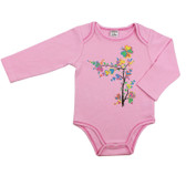 Baby Long Sleeve Onesie: Tree