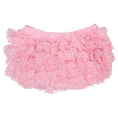 Diaper Cover: Light Pink Lace