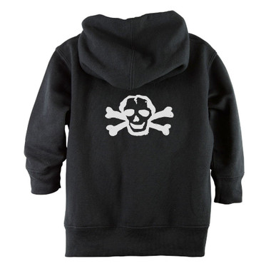 Punk Rock White Skull Baby & Toddler Hoodie Jacket