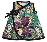 Punk Rock Baby Kimono Baby Dress: Charmer