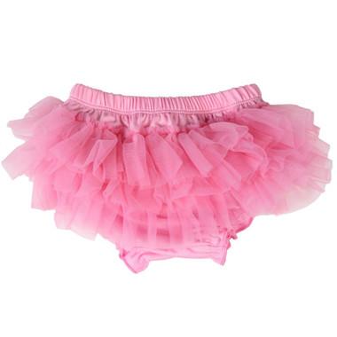 Pink Tutu Ruffle Diaper Cover.