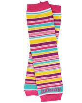 Candy Stripe Organic Baby & Toddler Leg Warmers.