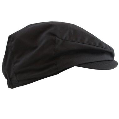 Black Newsboy Baby Hat