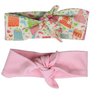 Urban Girl and Pink Hair Wrap Gift Set
