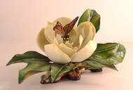 Magnolia Grandiflora With Butterfly 300-12
