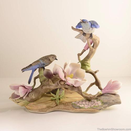 Boehm Mountain Bluebirds Hallmark 470