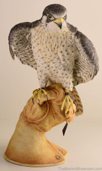Boehm Peregrine Falcon On Glove Hallmark 10207