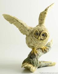 Boehm Fledgling Spotted Owl Hallmark 20253