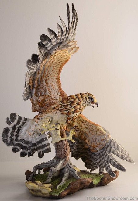 Boehm Red Shouldered Hawk Hallmark 40251