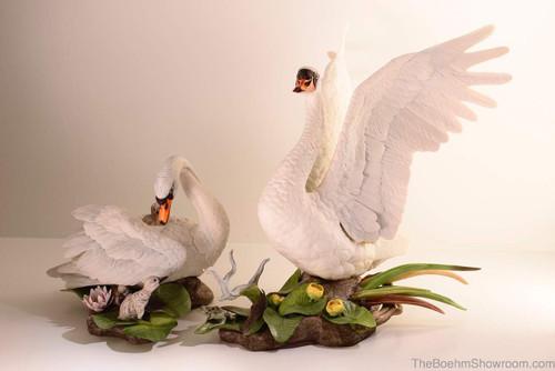 Boehm Mute Swans Hallmark 400-14