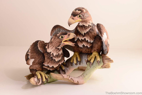 Boehm Bald Eagles-Young & Spirited Hallmark 400-49