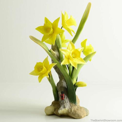 Boehm Daffodils Hallmark F527