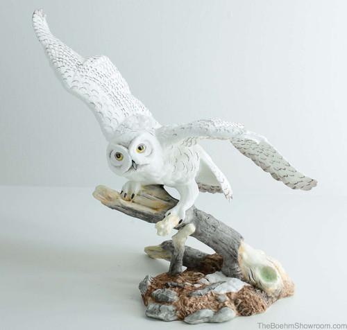 Boehm Snowy Owl Hallmark 10195