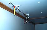 hang on ceilings
