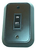single wall switch, 12 volt only