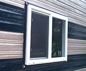 vinyl insulated window