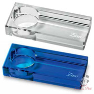 Zino Acrylic Collection Optical Glass Ashtray