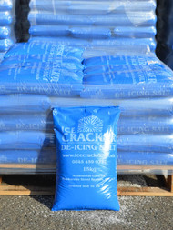 40 X 15KG BAGS OF WHITE DE-ICING SALT