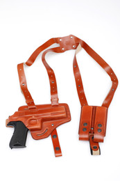 Shoulder Holster Set - Leather