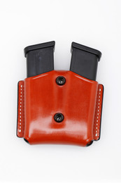 Premium Leather DOUBLE Magazine Case