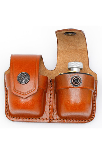 Leather Double Speedloader Case Www Holsterama Com