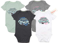 """Future GenRight Crawler"" Short Sleeve Onesie"