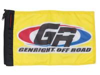 """ForeverWave 18""""W x 12""""H GenRight Logo Flag"""