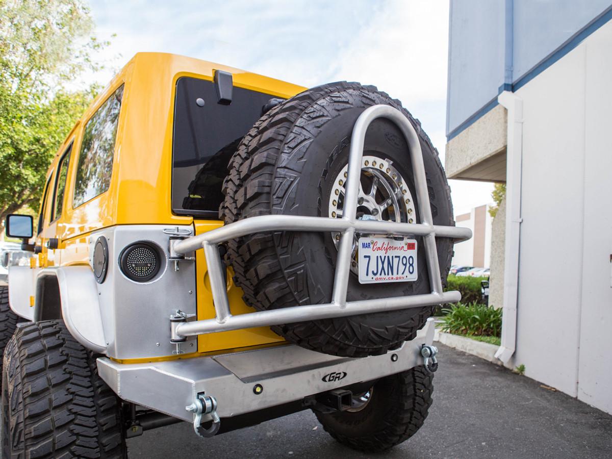 Jeep Jk Swing Out Rear Tire Carrier Amp Bumper Package