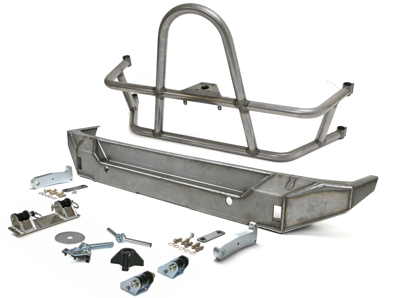 Jeep JK Swing Out Rear Tire Carrier & Bumper Package (Steel)