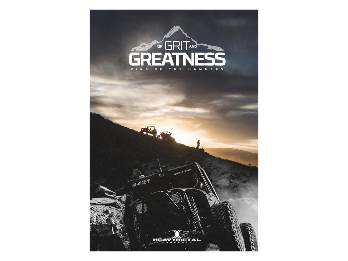 """""""Of Grit and Greatness"""" 2016 King of the Hammers DVD"""