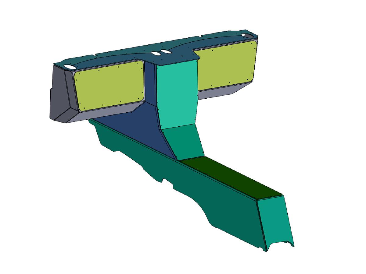 Jeep JK Aluminum Dash & Center Console Kit Designed in SolidWorks