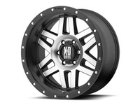 "KMC XD128 Machete 17"" Wheel (Machined Face w/ Black Ring)"