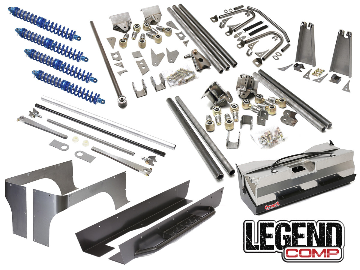 "Jeep YJ Legend Comp Suspension Package (6-7"" Stretch)"