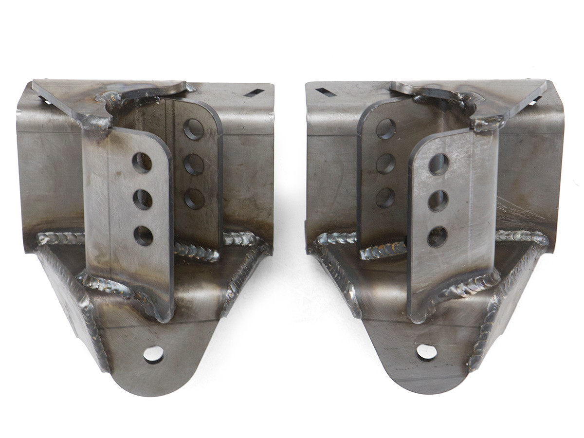 Rear 4-Link Rear Bracket Kit (Chassis Side) 3 Hole, Fully Welded