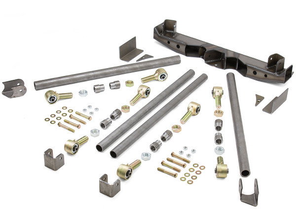 Double Triangulated Rear 4-Link Suspension Kit w/ Links